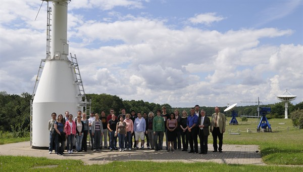 Teilnehmer des Joint Space Weather Summer Camp 2011