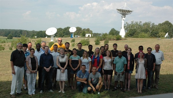 Das Space Weather Summer Camp 2013