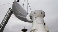 Die Antenne besteht aus sieben Segmenten, von denen jedes 150 Kilogramm schwer ist.