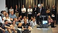 Einführungsvortrag mit DLR%2dVorstandsmitglied Prof. Hansjörg Dittus