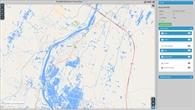 Flut in Peru: Hochwasserkarte