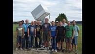 DLR%2dProjektteam nach erfolgreichem Test