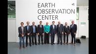 Gruppenfoto im EOC