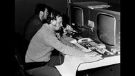 Der Kontrollraum des GSOC zur AZUR%2dMission 1969