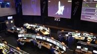 Launch des Satelliten Hispasat im Kontrollraum 1 (K1)