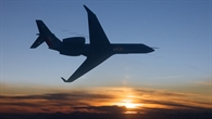 HALO bei einem Flug 2009