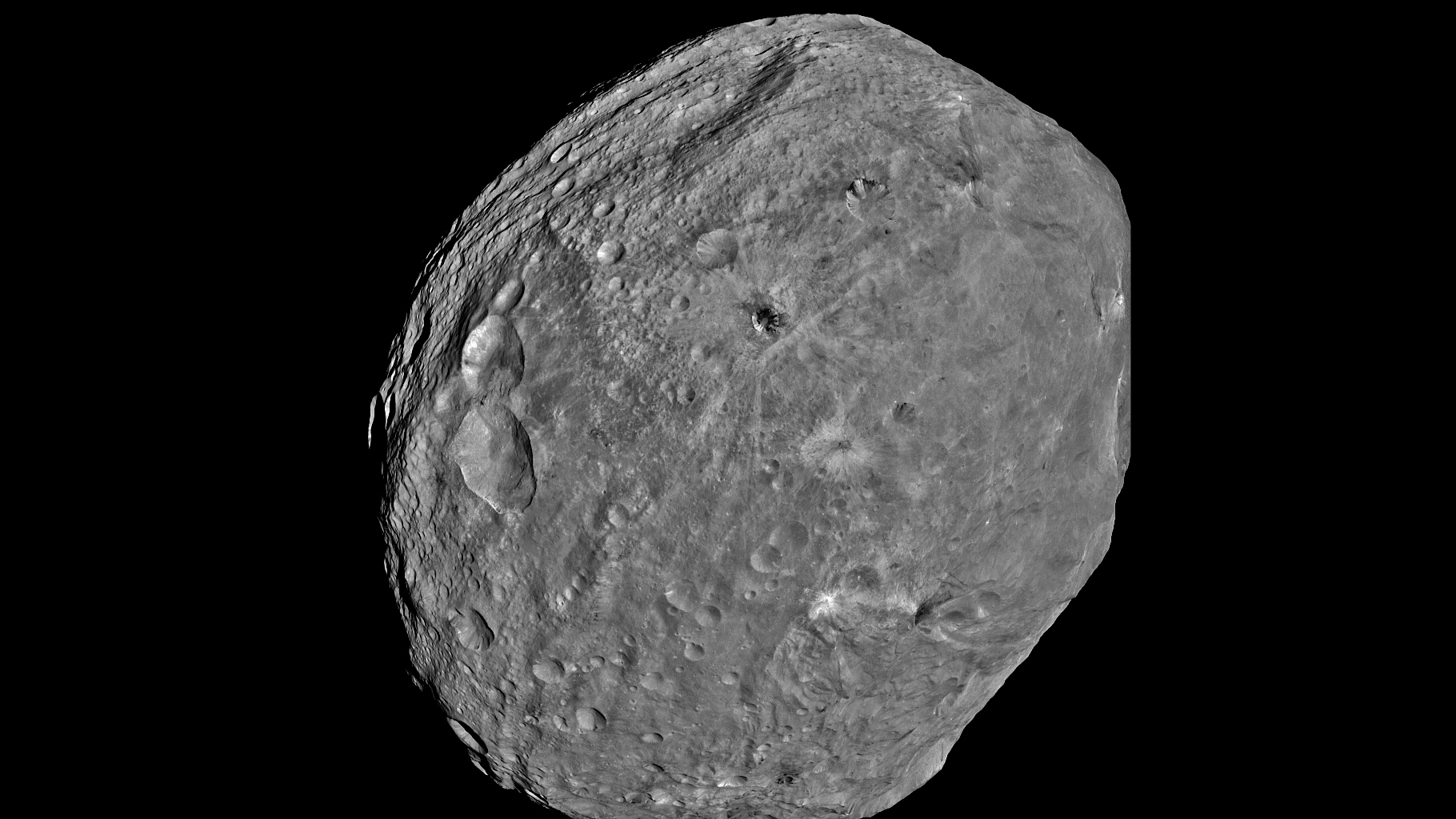 Asteroid Vesta (page 2) - Pics about space