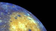 Oberfläche des Merkur