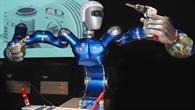 Der DLR%2dRoboter SpaceJustin soll als Serviceroboter im Weltall zum Einsatz kommen
