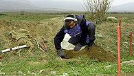 Detektion von Sprengfallen und Landminen