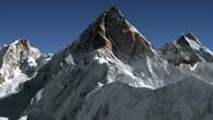 Nordwestgrat des K2 im Himalaya