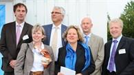 NRW%2dMinisterin am Solarturm in Jülich
