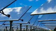 Spiegelfeld des Solarturms in Jülich