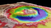 Gale%2dKrater auf dem Mars