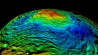 Die Raumsonde Dawn am Asteroiden Vesta