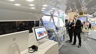 Innenraum und Fahrwerk des Next Generation Trains (NGT)