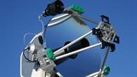 Teleskop der transportablen Bodenstation TOGS