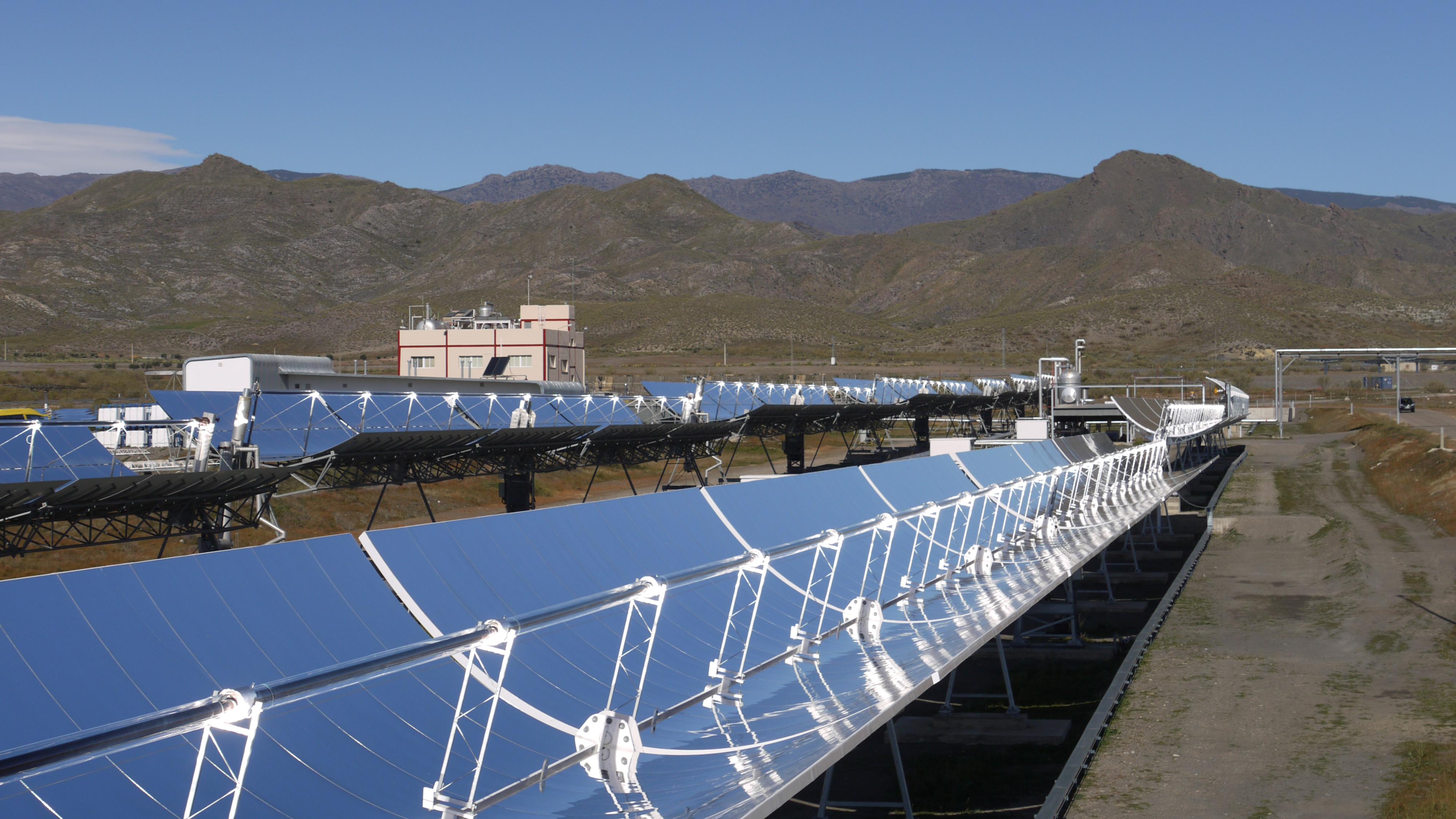 Bildergalerie Thermische Solaranlagen Dlr Portal
