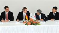 Unterzeichnung der Kooperationsvereinbarung zwischen ADD und DLR