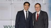 Bundeswirtschaftsminister Rösler zu Besuch beim DLR in Köln