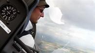 In der Luft über Nordhessen