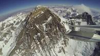 Erstmals Flug mit Motorsegler und 3D-Kamera am Mount Everest