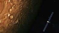 Rosettas Vorbeiflug am Mars im Februar 2007