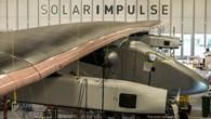 SolarImpulse%2dPrototyp im Netz der DLR%2dSensoren zur Schwingungsanalyse