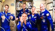 Angekommen auf der ISS