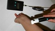 Einsatz des VisioScan%2dGerätes am Boden