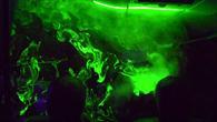 Kabinenströmung im Laserlicht