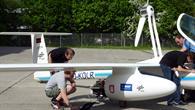 Systemcheck an der Antares vor dem Flug