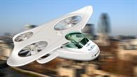 Der Skyrider, eine Designstudie für den Individualverkehr der Zukunft