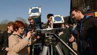 Beobachtung mit Teleskop