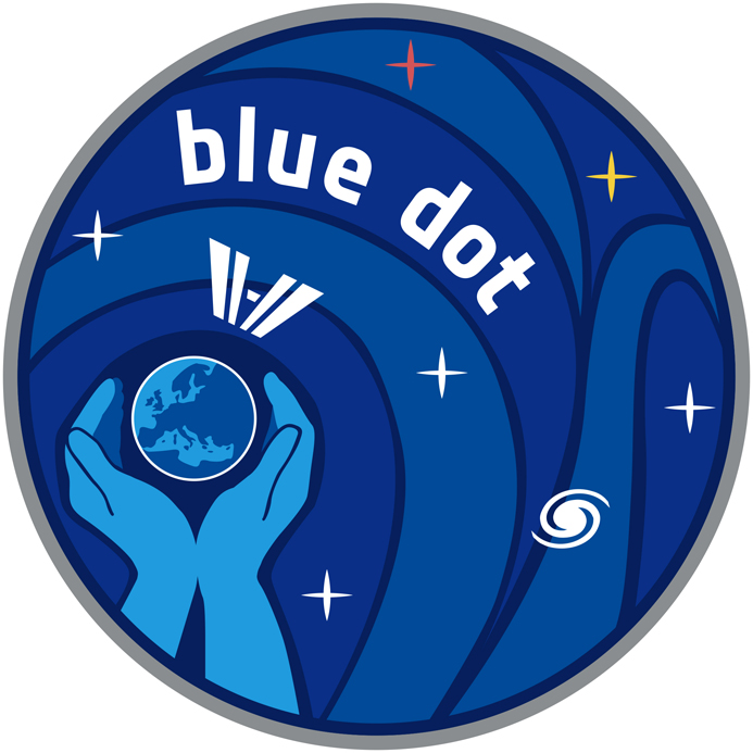 """Mission """"The Blue Dot"""" - Alexander Gerst  Blue_Dot_Mission_Logo_Hires"""