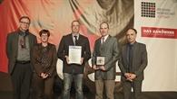 Preisverleihung der Bildungspyramide 2018 an Vertreter des DLR Stuttgart