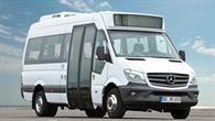 Minibus von Mercedes%2dBenz Vans