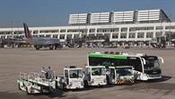 Testfahrzeuge efleet am Flughafen Stuttgart