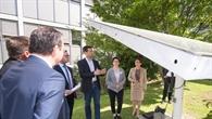Die Entwicklung von Heliostaten gehört zu den Schwerpunkten des Instituts für Solarforschung