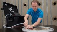 Mobiler Reparaturkoffer für Hightech%2dKunststoffe