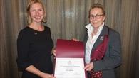 Preisverleihung des Amelia Earhart Awards
