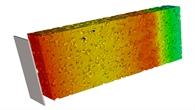 Computertomografische Aufnahme der Lithium%2dIonenverteilung einer Batterielektrode