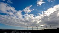 Windkraftanlage auf der Insel Gran Canaria