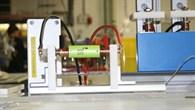 Lithium%2dIonen%2dBatterie verkabelt für Labortests