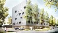 Visualisierung des neuen Gebäudes am DLR%2dStandort Stuttgart