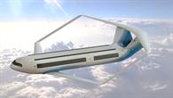 Das Flugzeugkonzept AirBox One des drittplatzierten Teams der RWTH Aachen