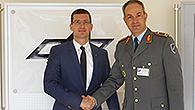 KSK General Dag Baehr besucht das DLR