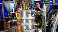 Der Reaktor als Herzstück der Kalkspeicheranlage