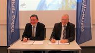 Unterzeichnung des Rahmenvertrages