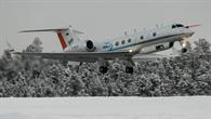 Das Forschungsflugzeug HALO startet Richtung Nordpolarkreis